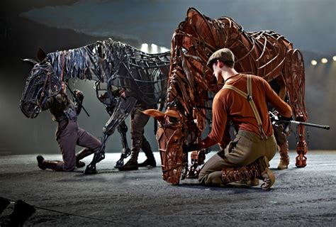 review war horse combines brilliant stagecraft melodramatic