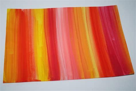 kalte und warme farben klassenkunst schneemannbild mit warmen kalten farben