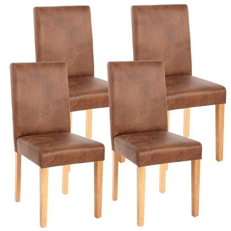 chaises pour salle à manger chaise salle a manger cuir vieilli