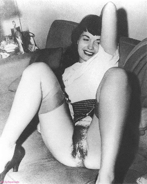 bettie page nude photos and video she s a legend omg