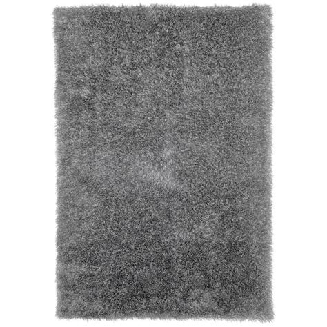 Rugs Grey by Home Legend Gray Color Shag 8 Ft X 10 Ft Area Rug
