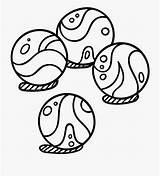 Marbles Clipart Cartoon Netclipart Kb sketch template
