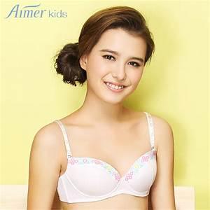 aimer kids aimer new girl child care bra comfortable 3/4 ...