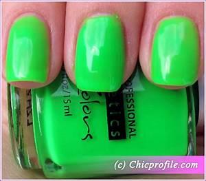Kinetics Oops Green Nail Polish from Kinetics Neon