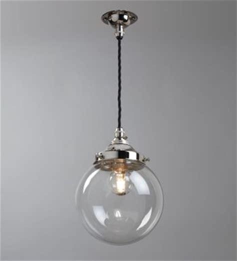 hector mini glass globe clear chandeliers pendants