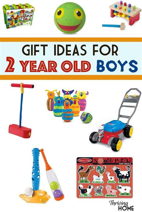 a great collection of gift ideas for two year old boys