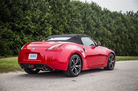 review 2018 nissan 370z roadster touring sport canadian