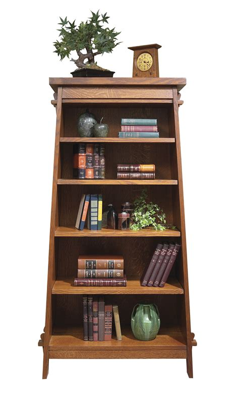 Bookcase Tower by Bookshelf Tower Mission Collection Stickley Audi Furniture