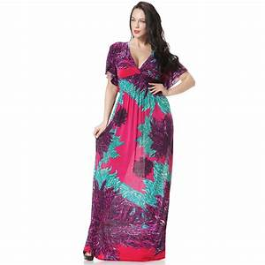 Robe femme ete 2017 women summer beach long maxi dress v for Robe femme ete 2017