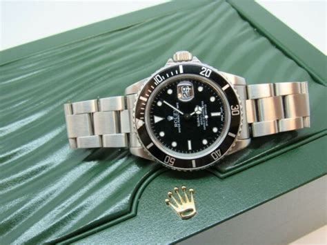 Rolex Submariner 16800 Transitional service Dial 1986 | eBay