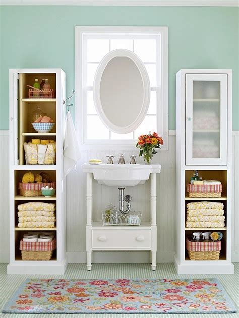 Storage Spaces For Small Bathrooms