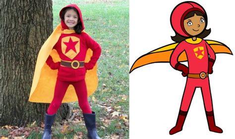 sew wordgirl costume crafts  kids pbs parents