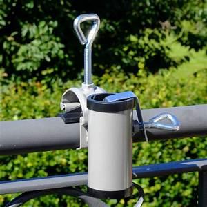 Sichtschutzmatten Für Zäune : sonnenschirmhalter videx f r handlauf h ii aluminium ~ Articles-book.com Haus und Dekorationen