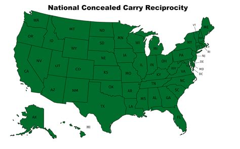 Would The Concealed Carry Reciprocity Act