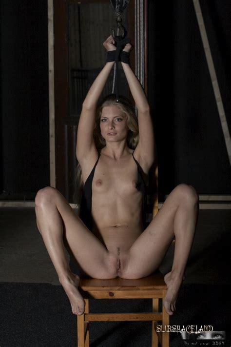 Sexy Blonde In Bondage Gallery Station Bdsm Terminal