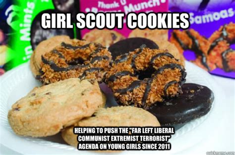 Girl Scout Cookie Memes - girl scout cookie quotes funny quotesgram