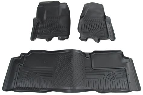 2016 ford f 250 super duty floor mats husky liners
