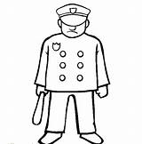 Police Coloring Officer Pages Uniform Sheets Clipart Drawing Colouring Policeman Clip Traffic Cliparts Library Children sketch template