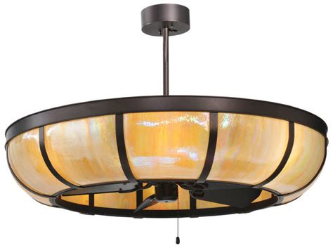 meyda custom lighting introduces bent stained glass