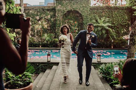 colorful san miguel de allende wedding  casa las