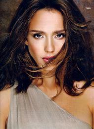 Jessica Alba Glamour Magazine
