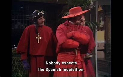 Inquisition Spanish Monty Python Expects Nobody Expecting