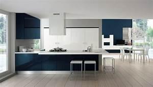 cuisine bleu petrole dco murale originale pour toute la With association de couleur avec le bleu 12 home carrelage showroom