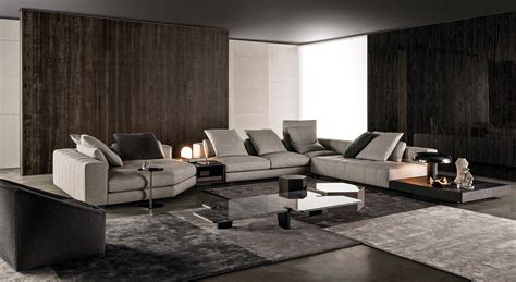 canapé minotti sofa freeman seating system by minotti