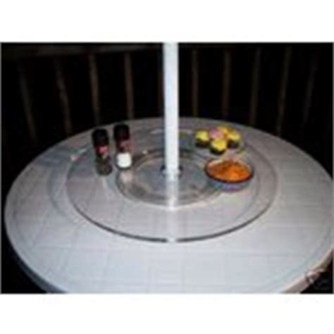 lazy susan for umbrella table acrylic lazy susan for patio table with umbrella 05 19 2007
