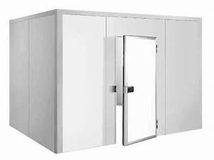 Chambre en panneaux isolant pour recevoir un équipement de froid pour chambre froide