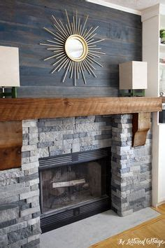 ideas  stone fireplace makeover  pinterest