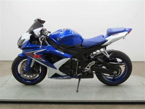 2008 Suzuki Gsx R600 by Buy 2008 Suzuki Gsx R600 Sportbike On 2040 Motos