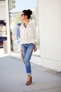 How to Wear Crisp White Button-Down 21 Ideas | StyleCaster