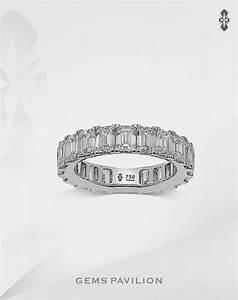 Gems Pavilion Wedding Ring