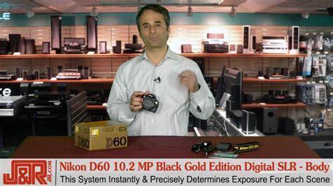 nikon d60 10 2 mp digital slr nikon d60 10 2 megapixel black gold edition digital