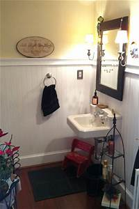 How to install beadboard wainscoting one project closer for Installing wainscoting in bathroom