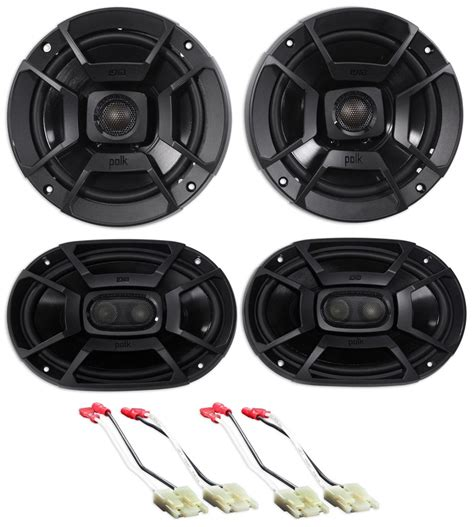99 04 jeep grand polk audio front rear factory speaker replacement kit audio savings