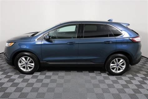 2016 Ford Edge Sel 36607 Miles Too Good To Be Blue