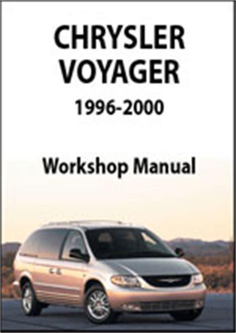 service manuals schematics 2001 chrysler voyager regenerative braking chrysler voyager workshop repair manual