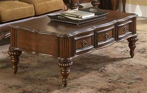 Coffee, Table, With, Drawers, Design, Images, Photos, Pictures
