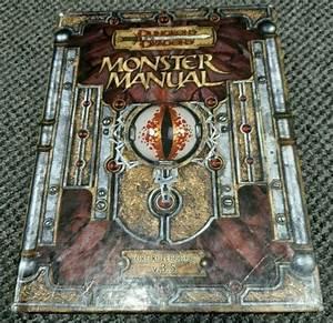 2003 Dungeons  U0026 Dragons Monster Manual Core Rulebook Iii V