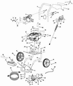 Homelite Ut80993f Pressure Washer Parts And Accessories