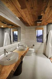 Plan Vasque Bois Brut : meubles en bois massif fossilis de design organique unique ~ Teatrodelosmanantiales.com Idées de Décoration