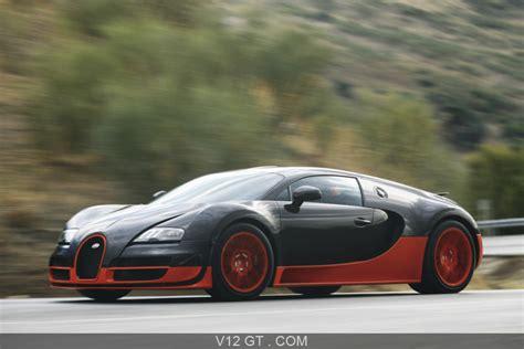 The development of the bugatti veyron was one of the greatest technological challenges ever known in the automotive industry. Bugatti Veyron Super Sport noir/orange 3/4 avant gauche filé / Bugatti / Photos GT / Les plus ...