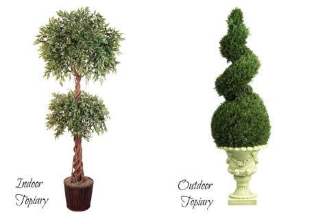silk topiaries gallery