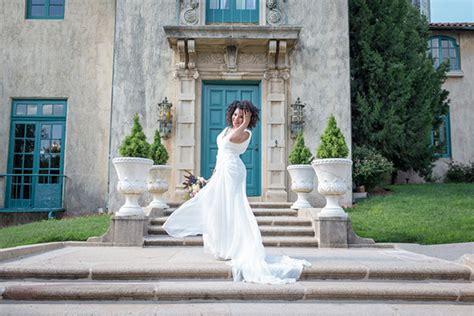 A Bridal Portrait Session At The Dresser Mansion