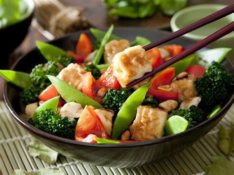 tofu cuisine vegetable and tofu stir fry dr weil 39 s healthy kitchen