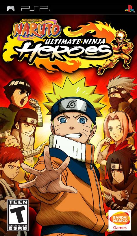 telecharger naruto heroes 3 psp