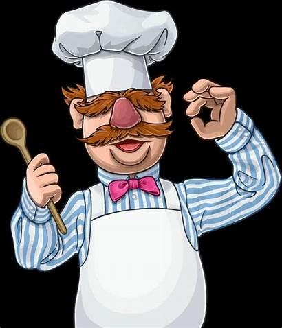 Chef Swedish Muppets Drawing Draw Muppet Drawings