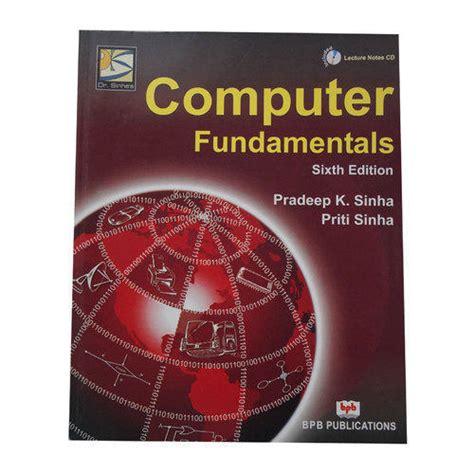 COMPUTER FUNDAMENTALS PRADEEP K SINHA EPUB